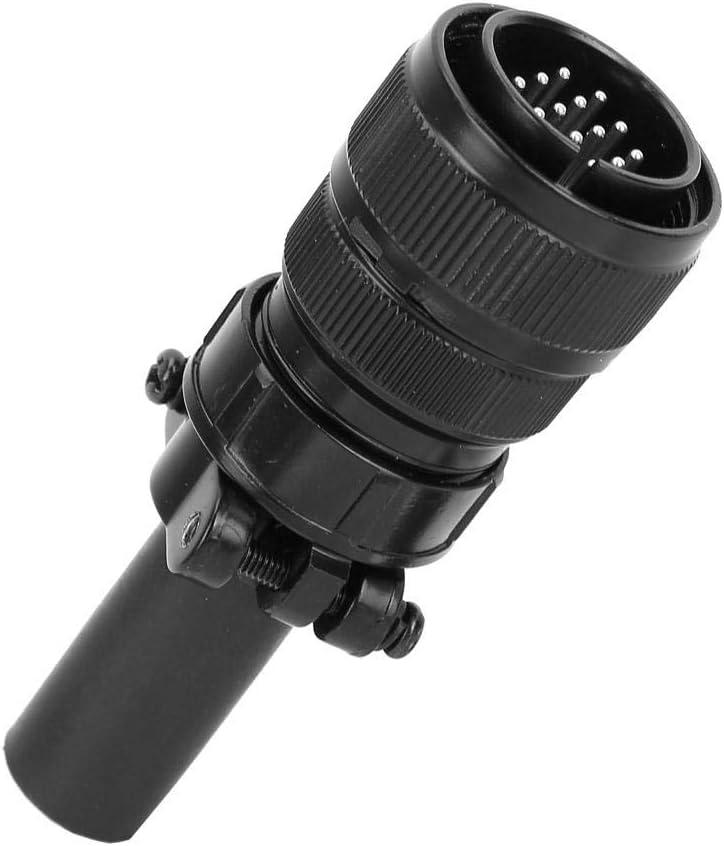 accessoires robustes et durables de contr/ôle du courant de soudage TIG pour prise de c/âble robuste /à 14 broches Prise m/âle /à 14 broches