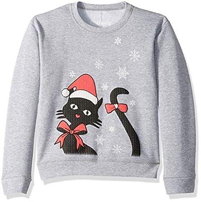 Hanes Big Girls Ugly Christmas Sweatshirt