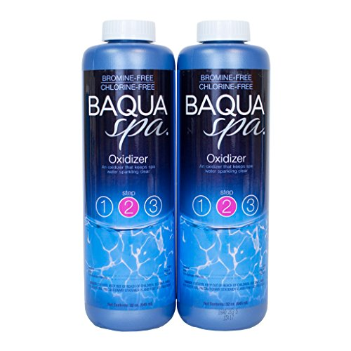 (Baqua Spa 88852 2-Pack Spa Oxidizer, Clear)