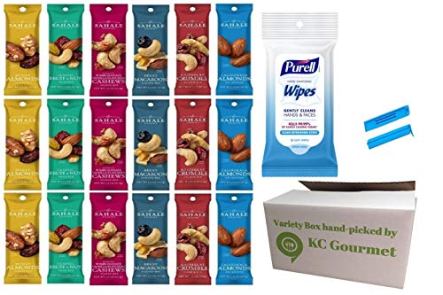 Sahale Snacks All Natural Nut Blends Grab And Go Variety Pack (1.5 oz x 18 Packs)