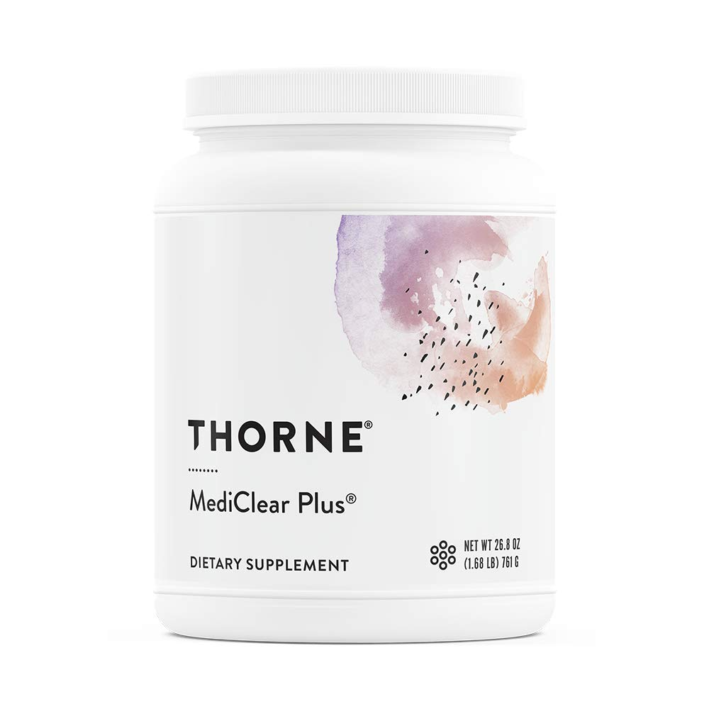 Thorne Research - MediClear Plus - Detox, Cleanse, and Weight Management Support - Rice and Pea Protein-Based Drink Powder with a Complete Multivitamin-Mineral Profile - 26.8 Oz