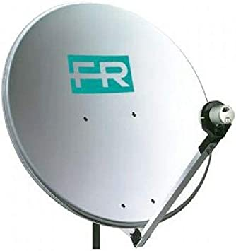 Fracarro Antena parabolica parabólica + brazo soporte para recepción de señal de TV Sky Digital 287411
