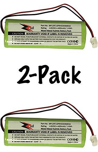 2-Pack ZZcell Battery For Dogtra Transmitter BP12RT, 175NCP, 200NC, 200NCP, 202NCP, 280NCP, 282NCP, 1900NCP, 1902NCP, 300M, 302M, 7000M, 7002M, 7100H, 7102H, 7100, 7102, 1100NC, 2000B, 2000200NC (Transmitter Battery)