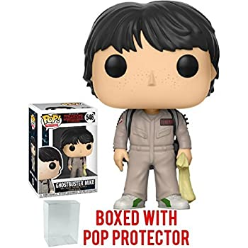 Amazon.com: Funko Pop! Stranger Things - Ghostbusters Mike