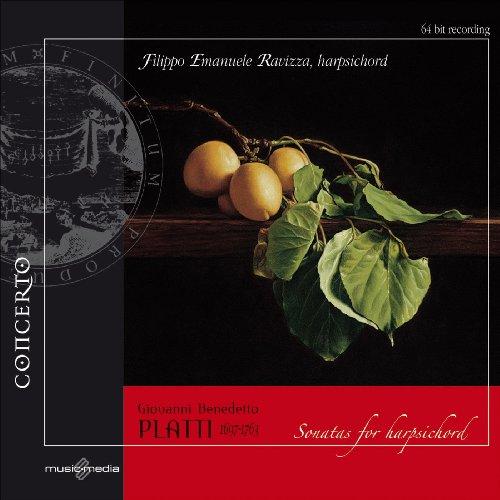 Harpsichord Complete Sonatas (Giovann Platti: Complete Sonatas for Harpsichord)