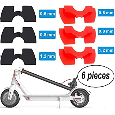 LOSLOY 6 Piece Electric Scooter Rubber Vibration Dampers for Xiaomi M365/Pro M187 Scooter Accessories Xiaomi Rubber.relist : Sports & Outdoors