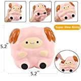 Aolige Jumbo Squishies Kawaii Pink Lamb Cream Scented Slow Rising Decompression Squeeze Toys Children Simulation Cute Sheep Toys