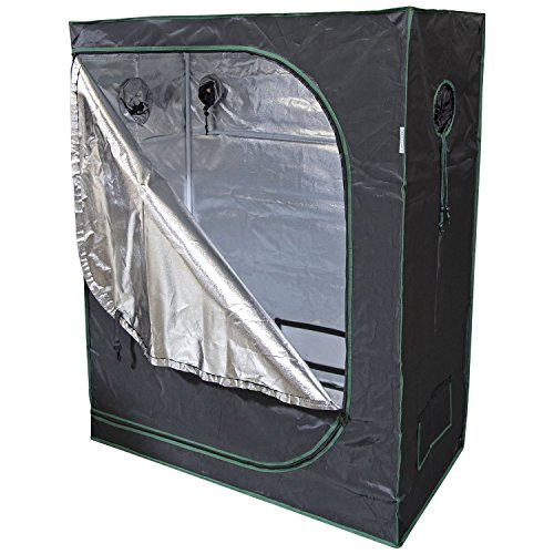 Urban Farmer 48x24x60 Reflective Mylar Hydroponic Grow Tent for Indoor Plant Growing