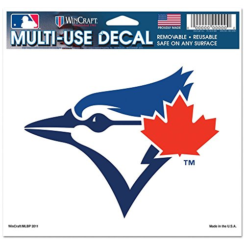 (WinCraft MLB Toronto Blue Jays Multi-Use Colored Decal, 5