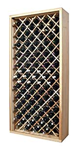 Designer Series 90 Bottle Wine Rack Finish: Classic Stained Premium Redwood