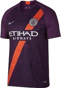 Nike 2018-2019 Man City Third Football Soccer T-Shirt Jersey