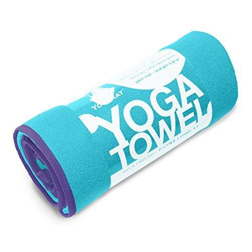 Yoga Towel Classic - 100% Microfiber Yoga Mat Towels - Witho
