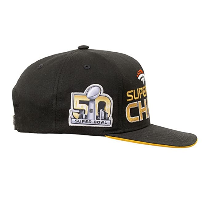 8081b2ccf Amazon.com   Outerstuff Denver Broncos NFL Super Bowl 50 Champhions Youth  Adjustable Backstrap Hat   Sports   Outdoors