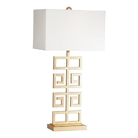 Amazon ethan allen greek key table lamp antique gold home ethan allen greek key table lamp antique gold aloadofball Gallery