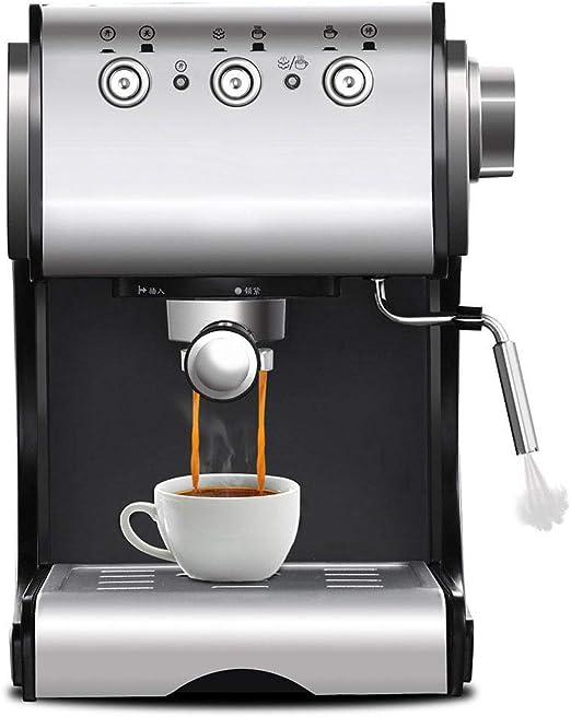 DAETNG Cafetera Espresso semiautomática con vaporizador de Leche ...
