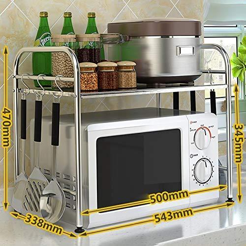 JZX Soporte para horno de microondas, estante de la cocina ...