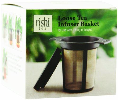 Rishi Tea Loose Tea Infuser Basket, 1-count (Pack of 3)