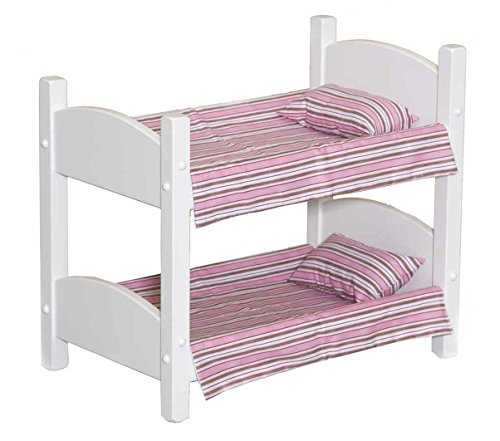 Adorable Doll Bunk Bed - Perfect for Your Little GirlWhite American Made by Amish