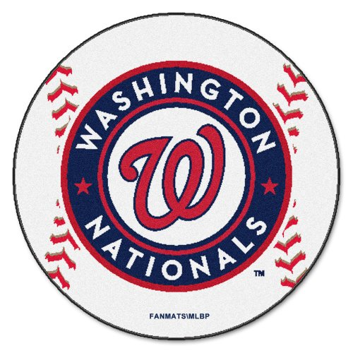 Washington Nationals Baseball Rug - 1