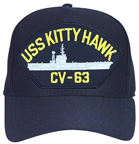 USS Kitty Hawk CV-63 Ships Ball Cap