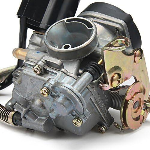 Jfg Racing 18mm Keihin Cvk Pd18j Carburetor Carburetor For 4 Stroke Gy6 50cc 139qmb 139qma Scooter Jonway Baja Jmstar Lance Nst Peace Banzer Barton Zipp Romet Auto