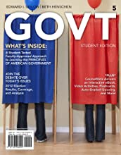 Govt 5 (With CourseMate Printed Access Card) (Paperback)