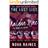The Lust List: Kaidan Stone: The Complete Series Bundle (The Lust List: Kaidan Stone Complete Series Bundle Book 1)