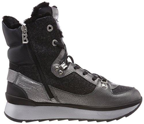 Donna Fee 2c Alto Grigio Sneaker Collo Anthracite Bogner SAAS 79 a xwEqFn0Fp