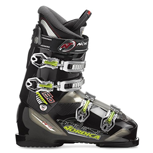 Nordica Cruise 80 Ski Boots Black Sz 12.5 (30.5) Mens