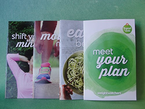 Weight Watchers 2017 Beyond The Scale SMART POINTS Diet Plan Welcome Kit (4) Guides + Pocket Guide