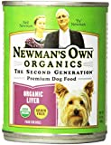 Newman's Own Organics Liver Grain-Free for Dogs, 12-Ounce Cans (Pack of 12)