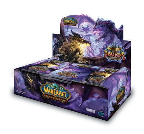 World of Warcraft TCG WoW Trading Card Game Twilight of Dragons Booster Box 2...