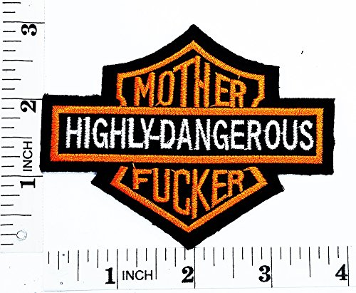 Mother Fucker Rider Biker Tatoo patch Motorcyle Bike Novelty patch Symbol Jacket T-shirt Patch Sew Iron on Embroidered Sign Badge Costume