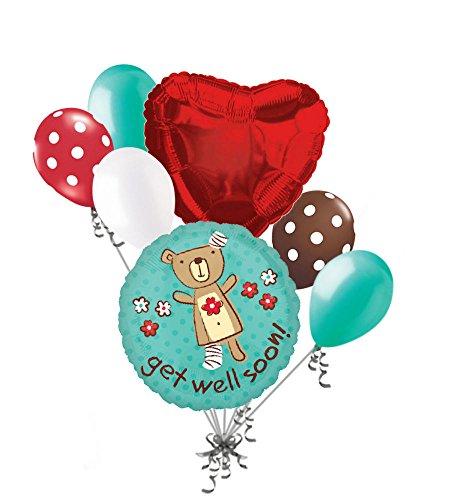 Well Soon Balloon Bouquet - 2