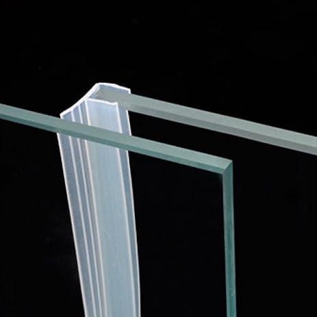 Draft Stopper Frameless Glass Sliding Sash Screen Shower Door