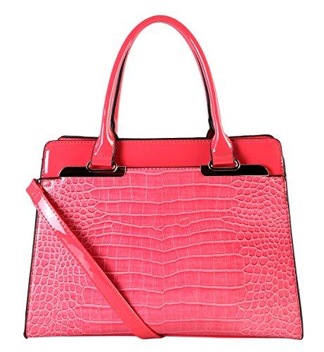rimen-co-shiny-patent-pu-leather-animal-print-pattern-tote-multi-spaced-womens-purse-handbag-cc-3228