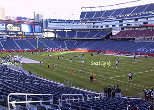 New England Patriots vs Baltimore Ravens 12/12/16 lower Section 125 tickets