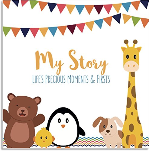 lovelysprouts-baby-memory-book-lifes-precious-moments-firsts-perfect-baby-shower-gift-little-animals