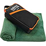 Rainleaf Travel Towel,Fast Drying Towel,Backpacking Towel,Swim Towel,Absorbent Towel,Workout Towel,Microfiber Towels for Body,Ultra Compact-Soft -Lightweight,Dark Green 34'x60'