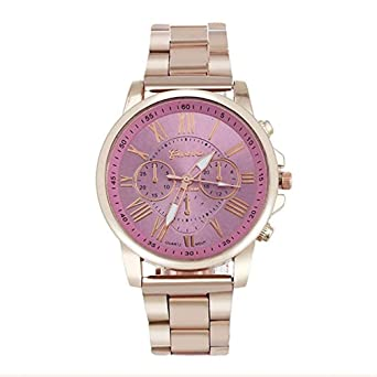 Scpink Reloj de Cuarzo para Hombres, Reloj analógico de Moda Casual para Hombres Reloj de Tres Ojos con Seis Agujas Reloj Hueco Reloj Digital ...