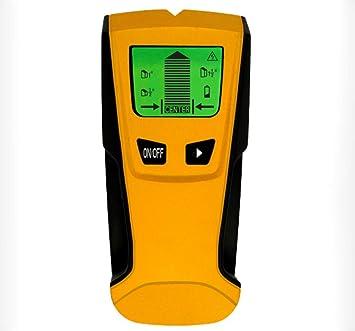 Hycy Detector De Metales 3 En 1 Buscar Metal Studs De Madera Voltaje De CA Live Wire Detect Detector De Pared Buscador De Cajas Eléctricas Detector De ...
