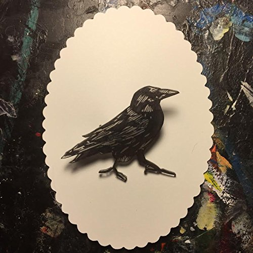 Fast Color Brooches & Pins Blackbird Brooch New Handmade Costume Jewellery