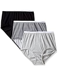 Jockey Women's Underwear Classic Brief - 3 Pack