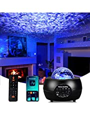 Galaxy Light Projector, Star Projector Starry Sky Night Light Projector with Remote Control, Built-in Music Player & Timer Function for Kids, Bedroom, Home Decoration