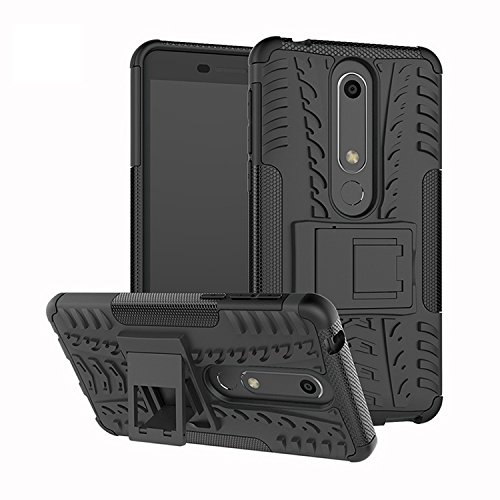 sports shoes 1e5aa 3be89 Amazon.com: Nokia 6.1 / Nokia 6 2018 Case, FoneExpert Heavy Duty ...