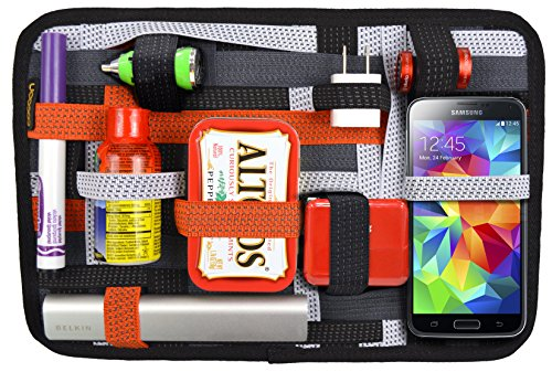 Cocoon CPG15OR 12 GRID-IT! Accessory Organizer with Pocket (Orange)