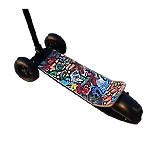 Amazon.com: Graffiti - Patinete eléctrico plegable para ...