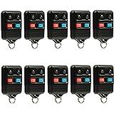 Car Key Fob Keyless Entry Remote fits Ford, Lincoln, Mercury, Mazda (CWTWB1U331 GQ43VT11T CWTWB1U345 4-btn), Bulk Lot of 10