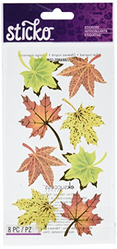 Sticko Stickers, Maple Leaves