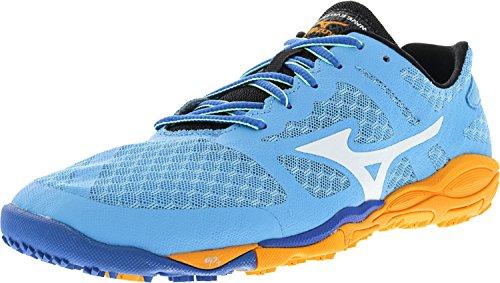 Mizuno Women's Wave Evo Ferus Running Shoe,Blue,7.5 B US